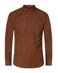 Park Avenue Brown Slim Fit Shirt