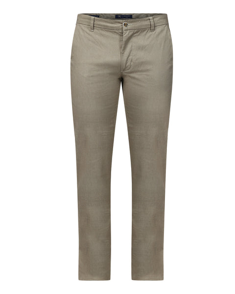Park Avenue Green Low Rise Tapered Fit Trouser