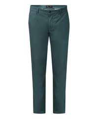 Park Avenue Dark green Slim Fit Trouser