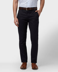 Park Avenue Dark Blue Tapered Fit Trouser