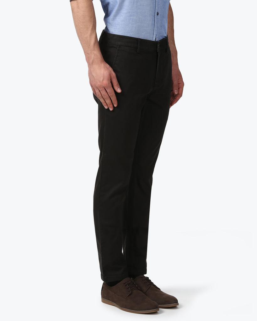 Park Avenue Dark Green Neo Fit Trouser