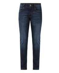 Park Avenue Dark Blue Slim Fit Jeans