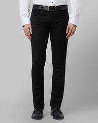 Park Avenue Black Regular Fit Jeans