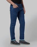 Park Avenue Blue Regular Fit Jeans