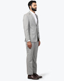Park Avenue Dark Grey Slim Fit Suit