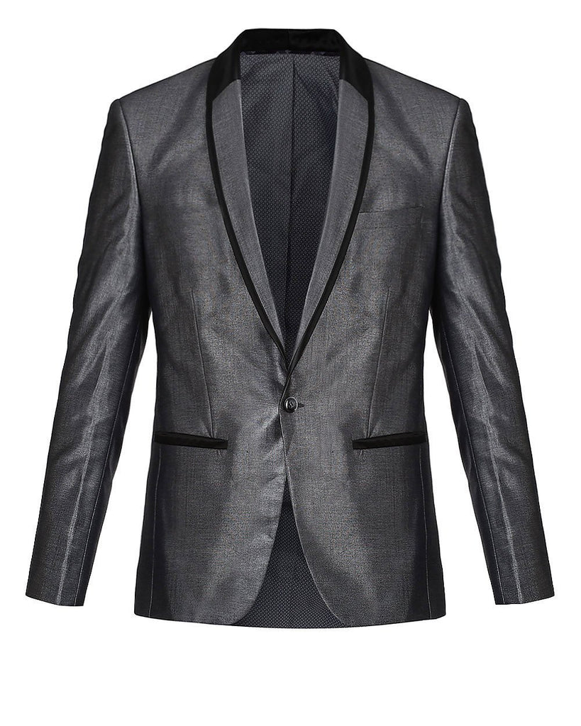 Park Avenue Grey Super Slim Fit Suit