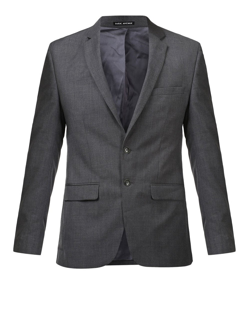 Park Avenue Grey Regular Fit Suit