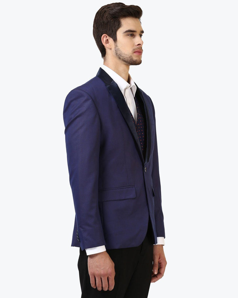 Park Avenue Blue Super Slim Fit Suit