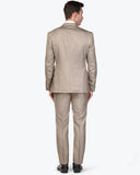 Park Avenue Brown Super Slim Fit Suit