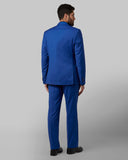 Park Avenue Dark Blue Super Slim Fit Suit