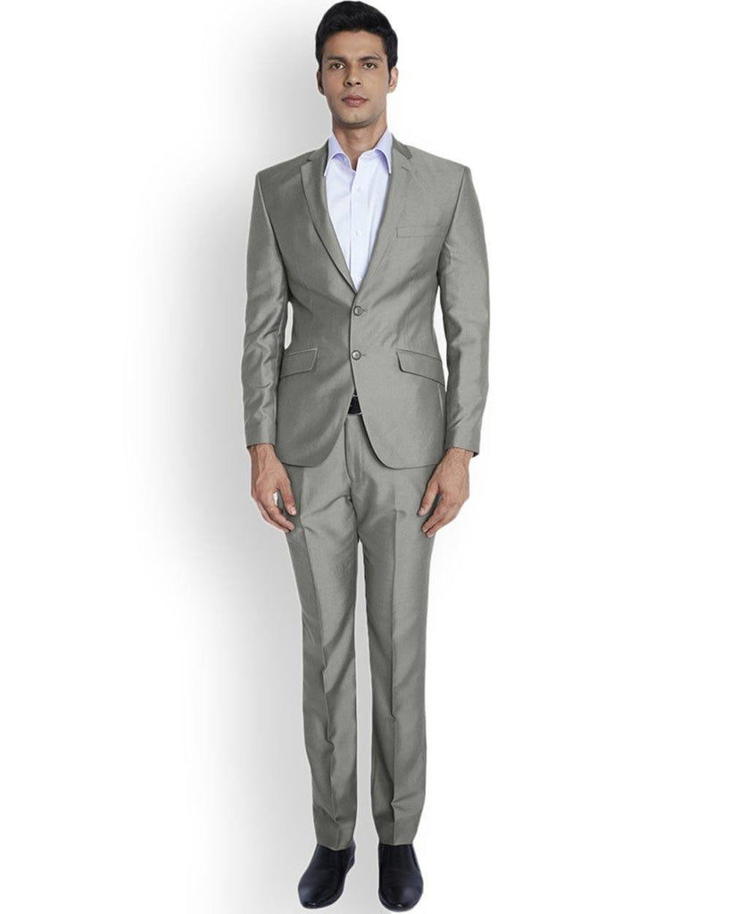 Park Avenue  Beige Regular Fit Suit