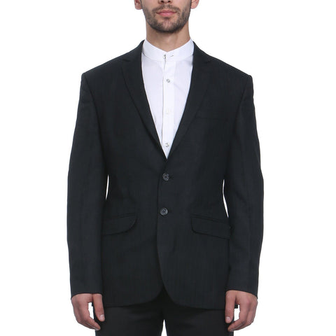 Park Avenue Men Black Jacket