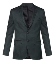 Park Avenue Dark Green Regular Fit Blazer
