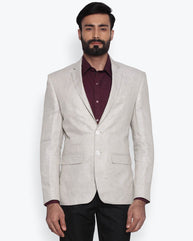 Park Avenue Light Fawn Super Slim Fit Jacket
