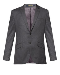 Park Avenue Dark Grey Regular Fit Blazer