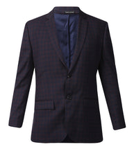 Park Avenue Dark Blue Slim Fit Blazer
