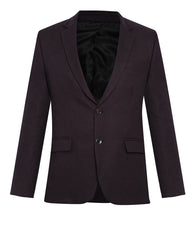 Park Avenue Dark Violet Slim Fit Blazer