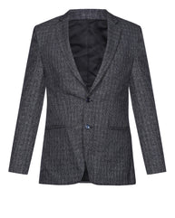 Park Avenue Grey Super Slim Fit Blazer