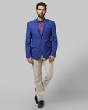 Park Avenue Blue Slim Fit Blazer