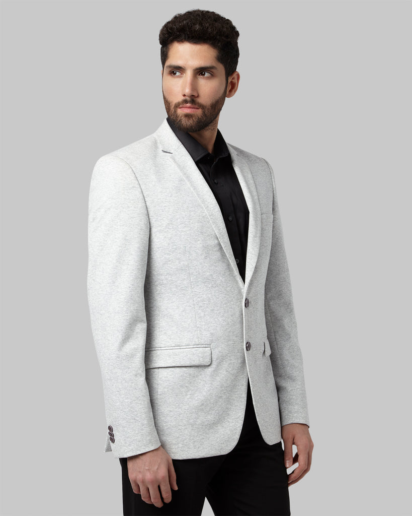 Park Avenue Grey Regular Fit Blazer