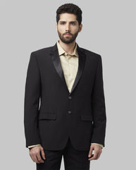Park Avenue Black Slim  Blazer
