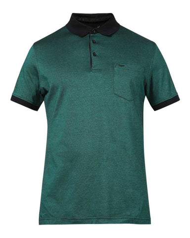 Park Avenue Dark Green Slim Fit T-Shirt