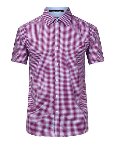 Park Avenue Medium Violet Slim Fit Shirt