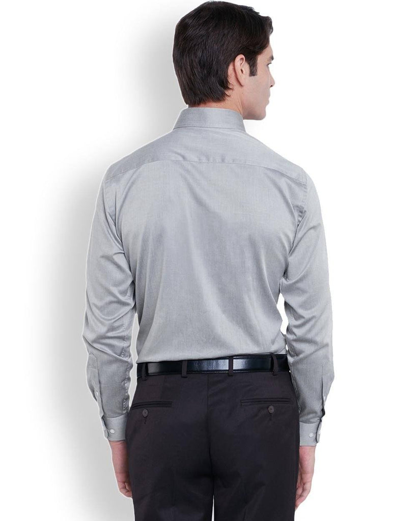 Park Avenue  Dark Grey Regular Fit Shirt