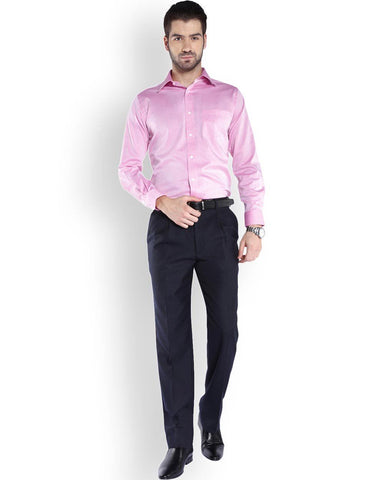 Park Avenue  Red Regular Fit Shirt