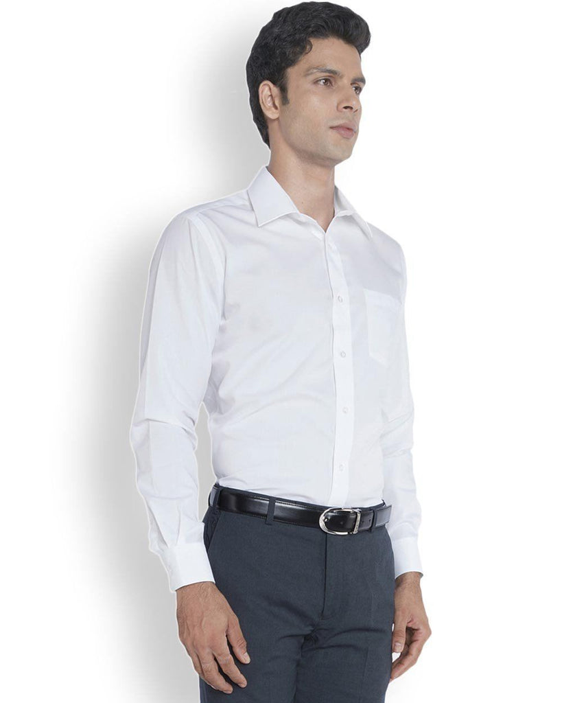 Park Avenue  White Smart Fit Shirt