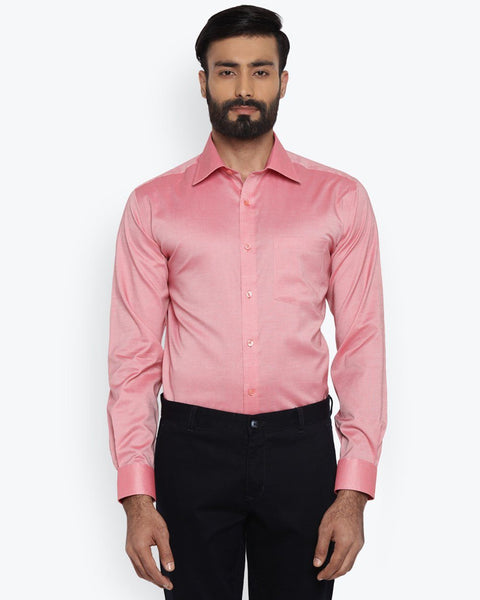 Park Avenue Medium Red Regular Fit Shirt