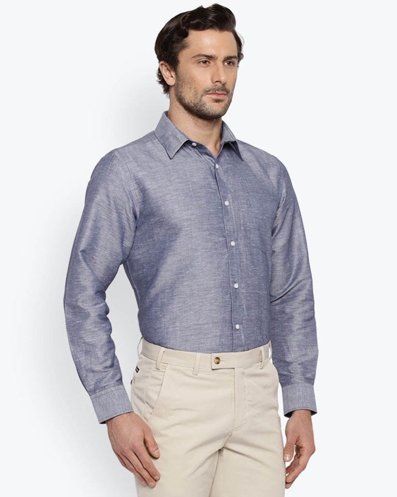 Park Avenue Medium Violet Regular Fit Shirt