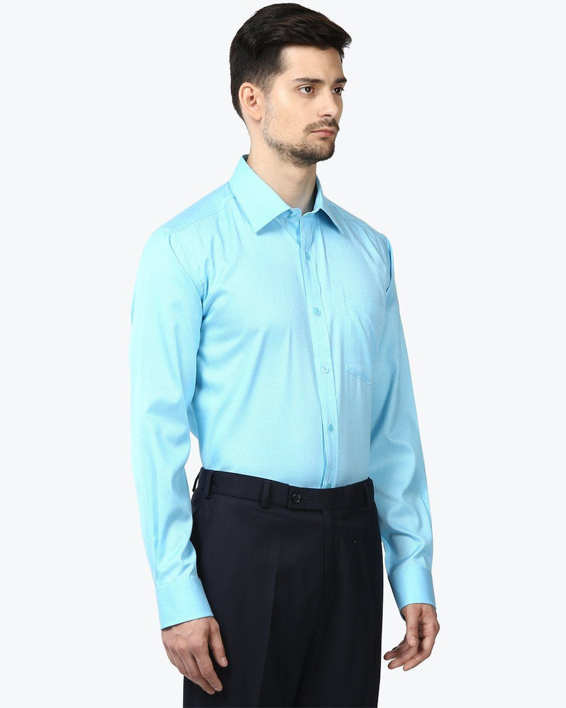 Park Avenue Green Regular Fit Shirt