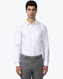 Park Avenue White Regular Fit Shirt