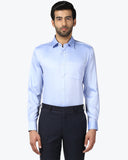 Park Avenue Blue Regular Fit Shirt