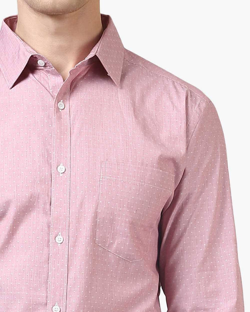 Park Avenue Pink Slim Fit Shirt
