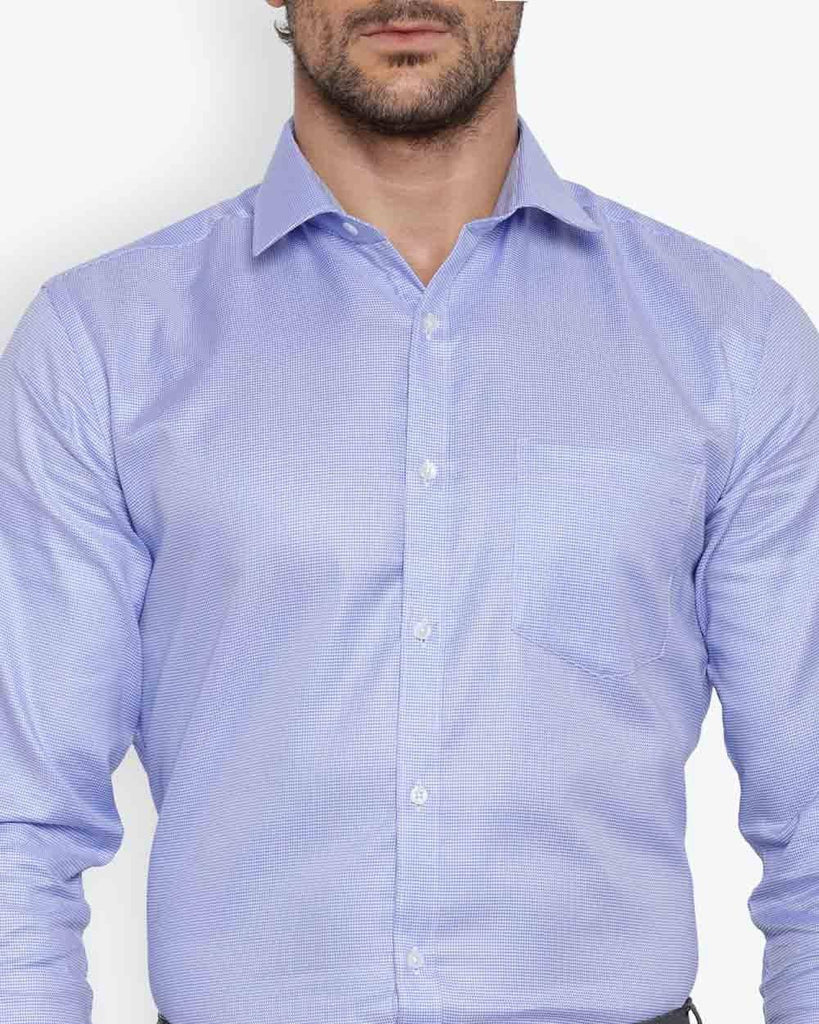 Park Avenue Light Grey Slim Fit Shirt