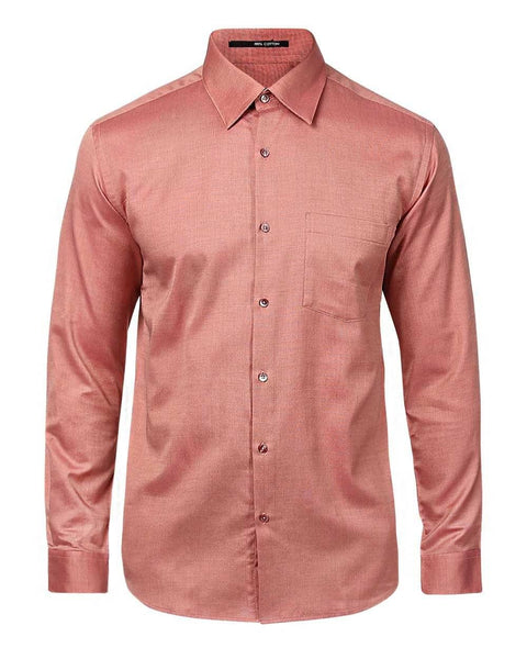 Park Avenue Dark Orange Slim Fit Shirt