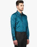 Park Avenue Dark Green Slim Fit Shirt
