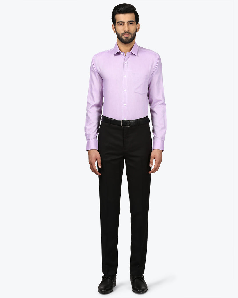 Park Avenue Purple Slim Fit Shirt