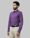 Park Avenue Red Slim Fit Shirt
