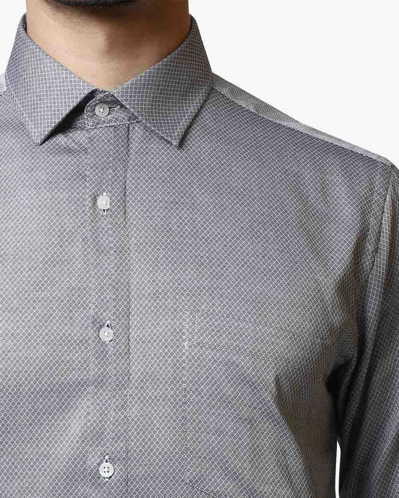 Park Avenue Dark Grey Slim Fit Shirt