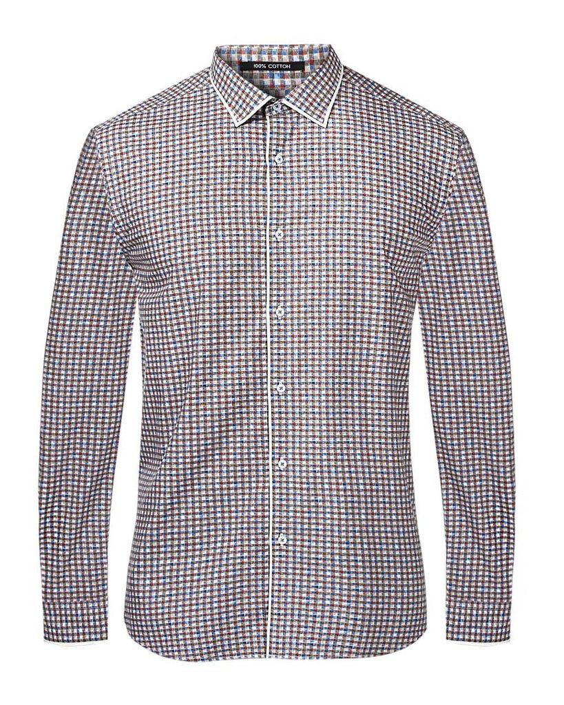 Park Avenue Green Slim Fit Shirt