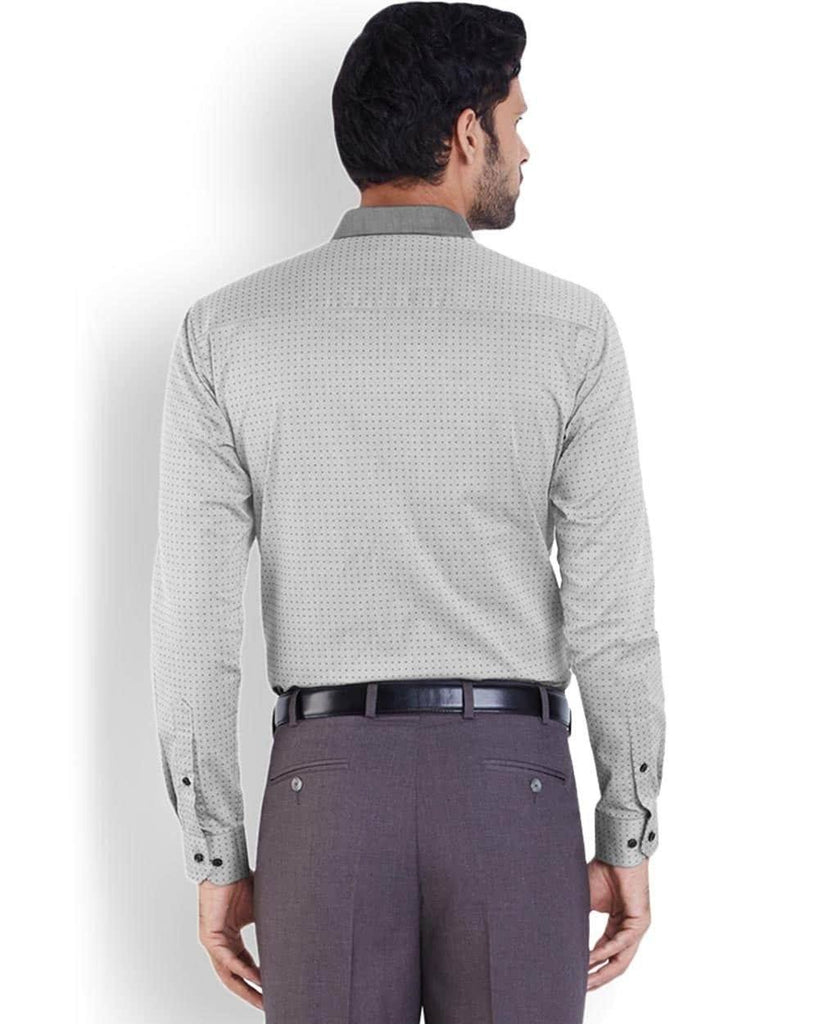 Park Avenue  Grey Super Slim Fit Shirt