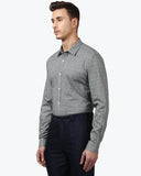 Park Avenue Dark Grey Super Slim Fit Shirt