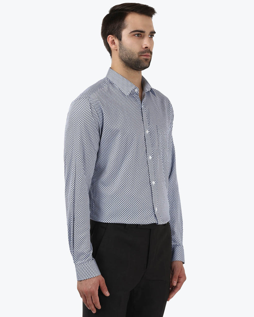 Park Avenue Blue Super Slim Fit Shirt