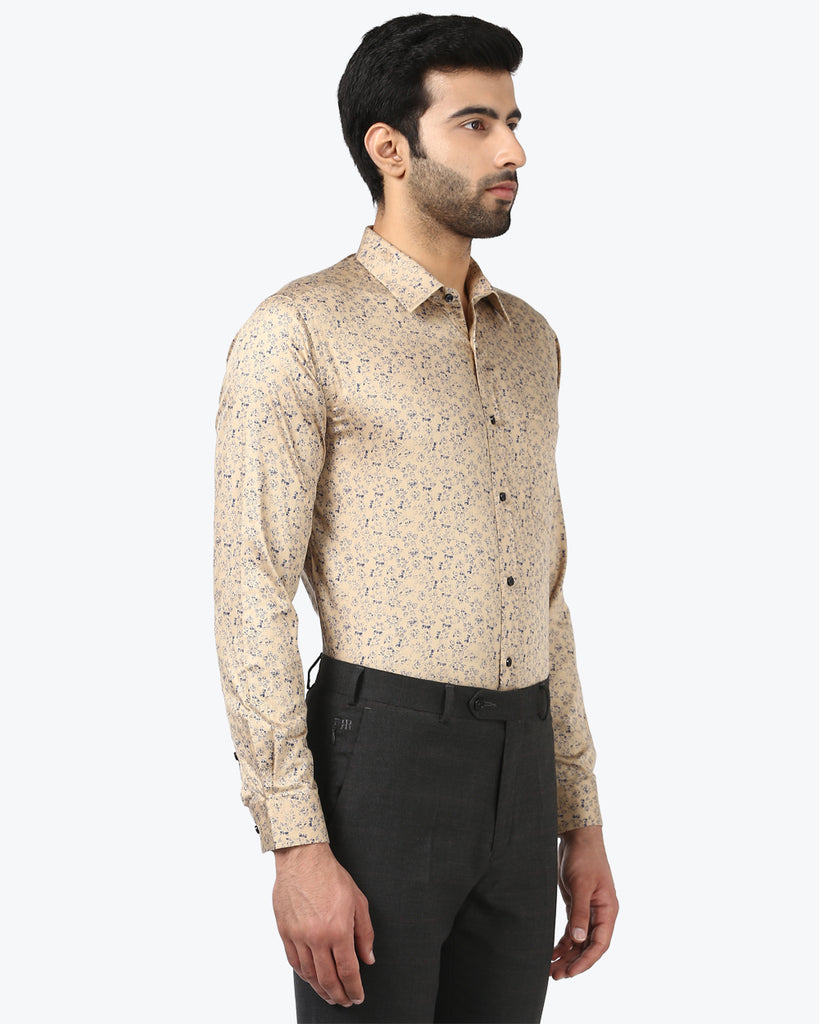 Park Avenue Fawn Super Slim Fit Shirt