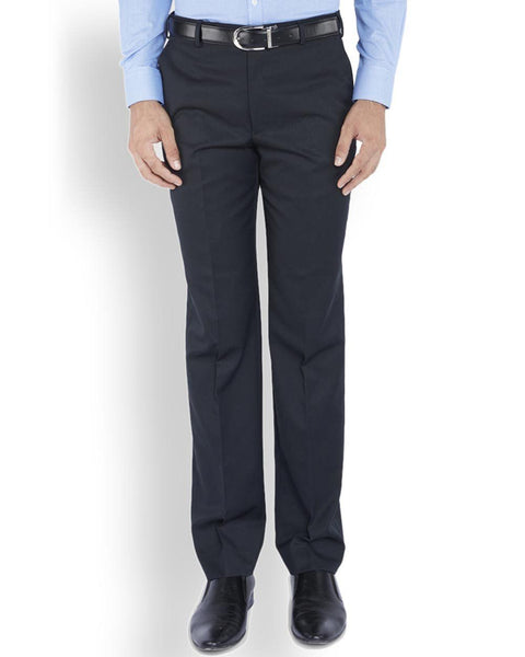 Park Avenue  Blue Slim Fit Trouser