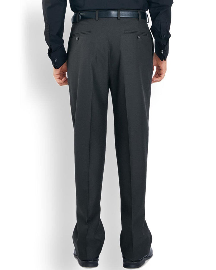 Park Avenue  Grey Regular Fit Trouser