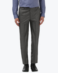Park Avenue Medium Grey Super Slim Fit Trouser